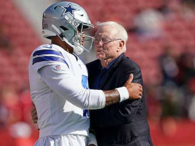 Jerry Jones on Dak Prescott Contract Status: Let's Win Some Games