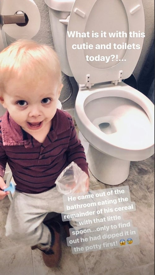 Jill Dillard Sam toilet