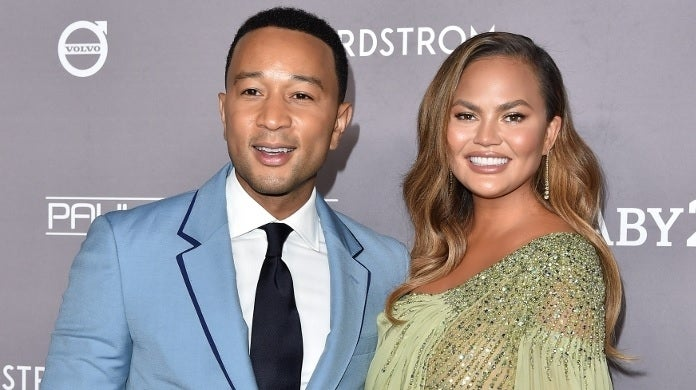 john legend chrissy teigen getty images