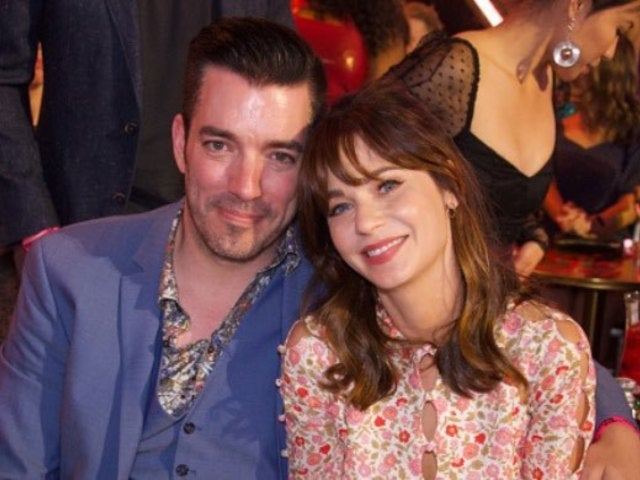 Zooey Deschanel and 'Property Brothers' Star Jonathan Scott Make Red Carpet Debut