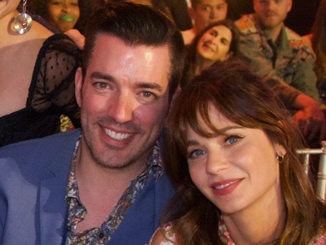 'Property Brothers' Star Jonathan Scott Shares Cuddly Photo With Zooey Deschanel in Thanksgiving Post