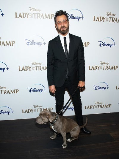 Justin and his dog premiere