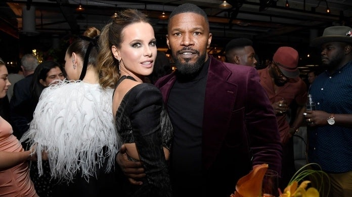 kate beckinsale jamie foxx getty images