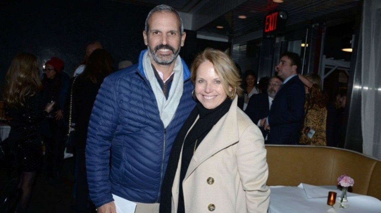 Katie Couric Stirs Social Media In Rare Selfie With Husband John Molner For His And Hers Colonoscopies