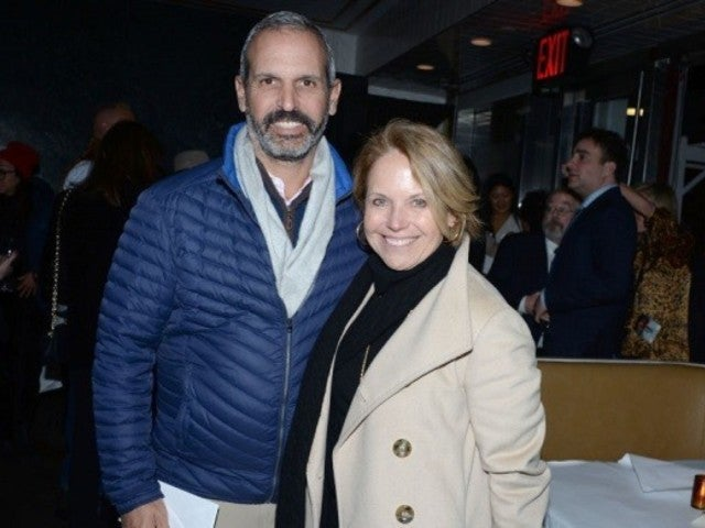 Katie Couric Stirs Social Media in Rare Selfie With Husband John Molner for 'His and Hers Colonoscopies'
