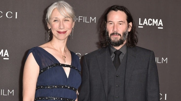 keanu reeves alexandra grant getty images
