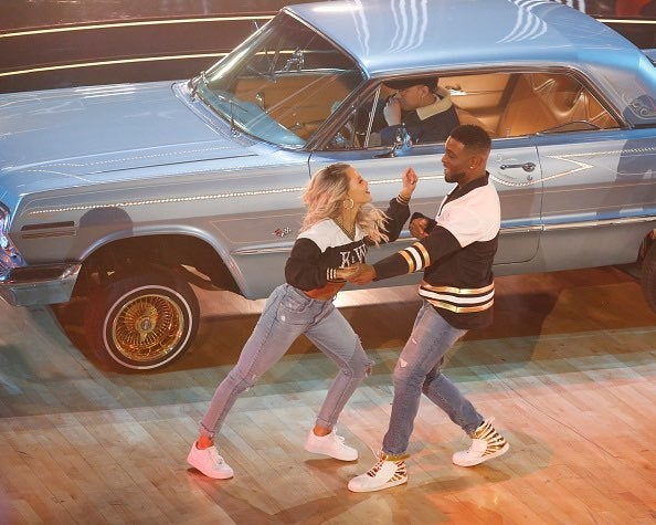 Kel Mitchell and Witney - Action Shot