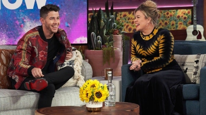 kelly clarkson nick jonas getty images nbc