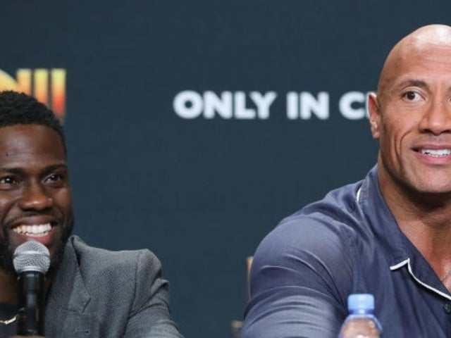 Kevin Hart in High Spirits Filming Hilarious Dueling Instagram Posts With Dwayne 'The Rock' Johnson Amid Accident Recovery