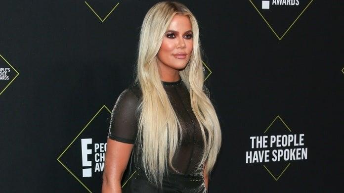 khloe kardashian people's choice awards getty images