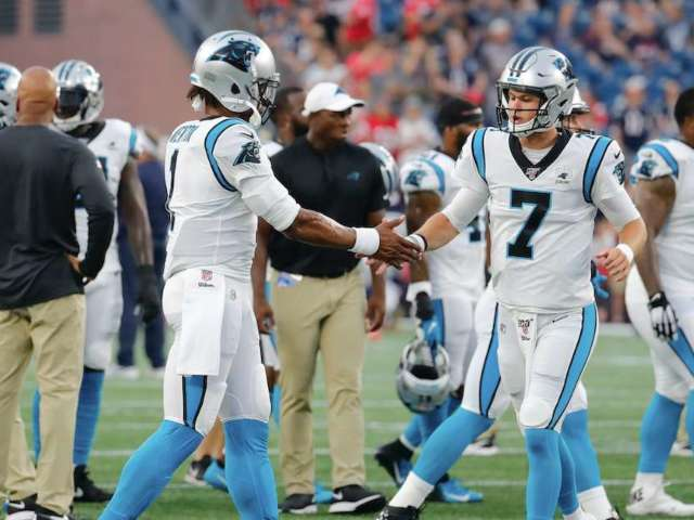 Coaches Tell QB Kyle Allen That Panthers Are 'His Team' Amid Cam Newton Absence
