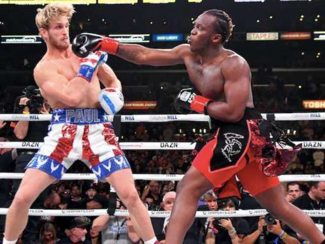 Logan Paul Claims Referee Botched Decision in KSI Boxing Match