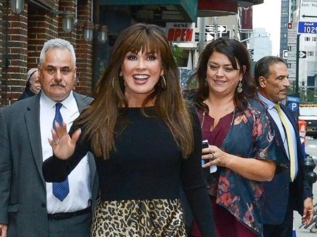 'The Talk' Host Marie Osmond 'Chipped off a Piece' of Her Kneecap During Second Fall in 2 Months