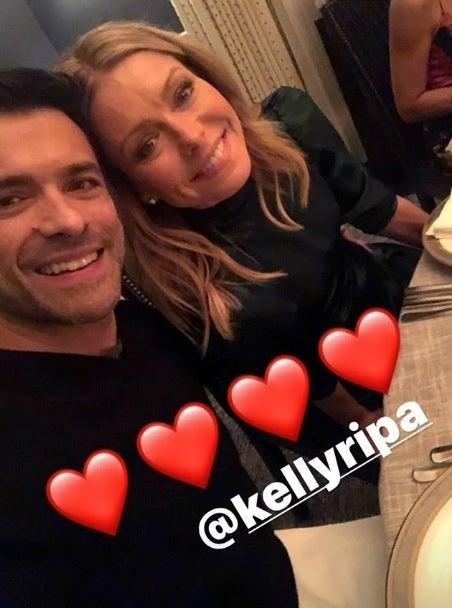 mark consuelos kelly ripa thanksgiving instagram