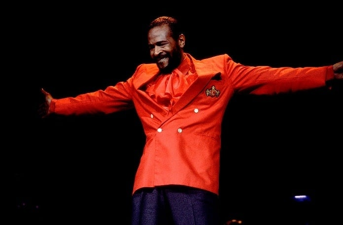 marvin gaye getty images