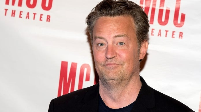 matthew perry friends getty images