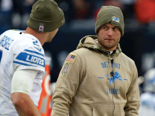 Report: Lions QB Matthew Stafford Could Miss 6 Weeks With Back Injury