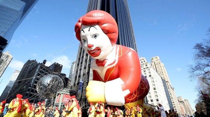 mcdonald's balloon