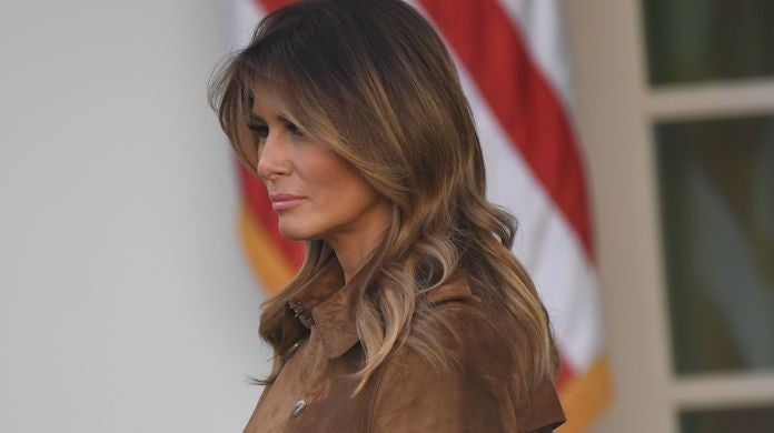 melania-trump-thanksgiving-Getty-Images