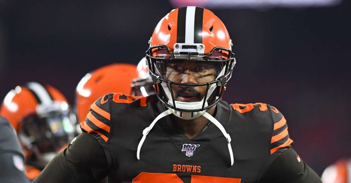 Myles Garrett Releases Statement After Racial Slur Allegations from Mason Rudolph