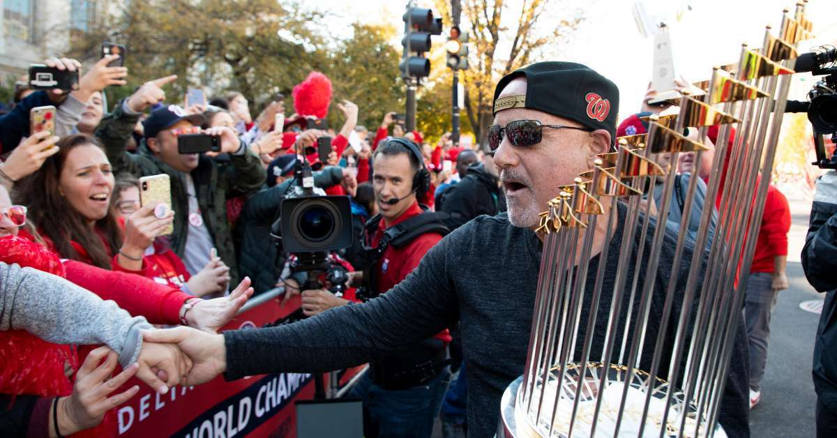 Nationals GM Mike Rizzo Says Team Wasn't Making Political Statement When Visting White House