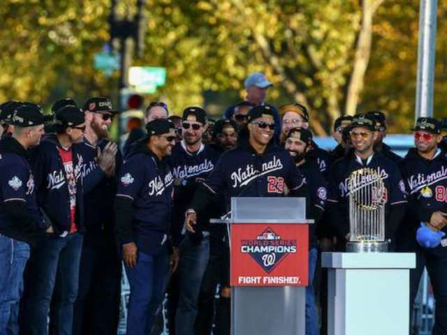 Washington Nationals Get Massive Payday Following World Series Victory