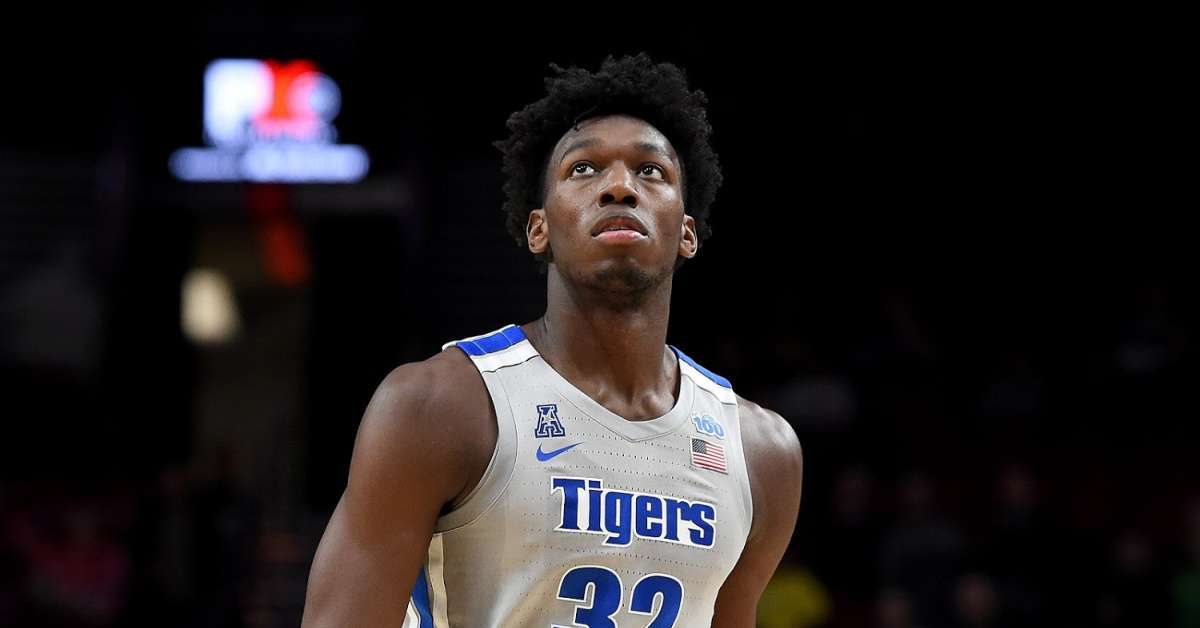 NCAA Upholds 12-Game Suspension of Memphis Basketball Star James Wiseman