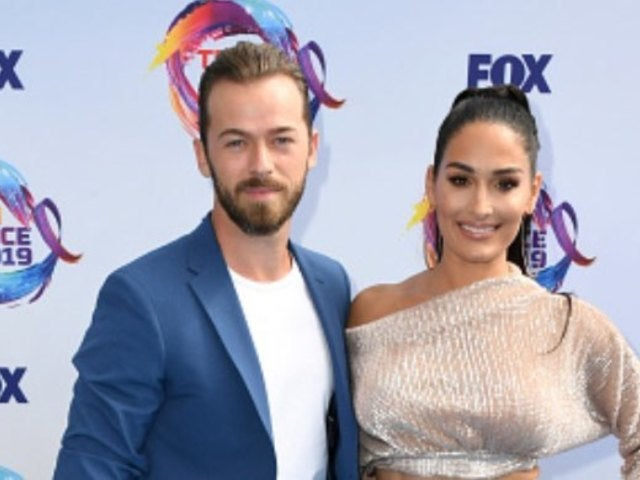 Nikki Bella Shares First Photo of Son With Artem Chigvintsev, Reveals Name