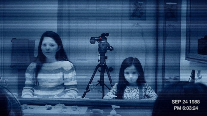 paranormal activity paramount facebook