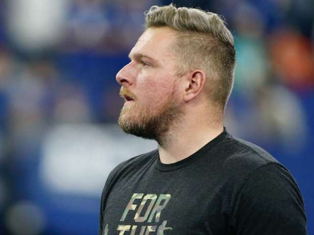 'College GameDay': Watch Pat McAfee Dive off a Pontoon, Poke Fun at Infamous Public Intoxication Arrest