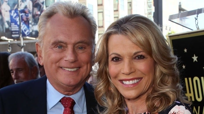 pat sajak vanna white getty images