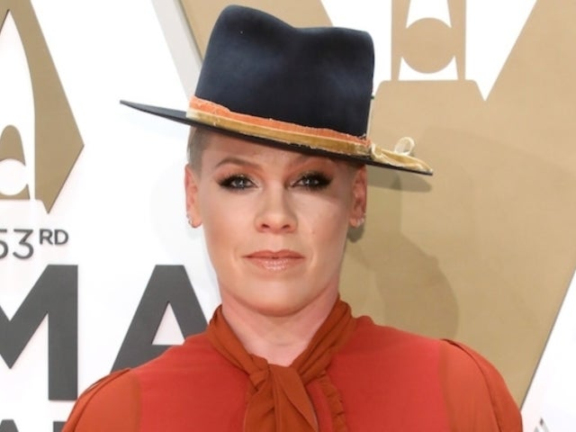 CMA Awards: Pink Owns the Red Carpet With Husband Carey Hart and Their Kids by Her Side