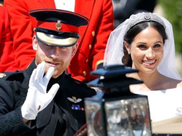 Prince Harry and Meghan Markle Share Never-Before-Seen Wedding Photo on Engagement Anniversary