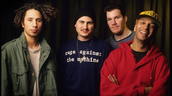 rage against the machine getty images