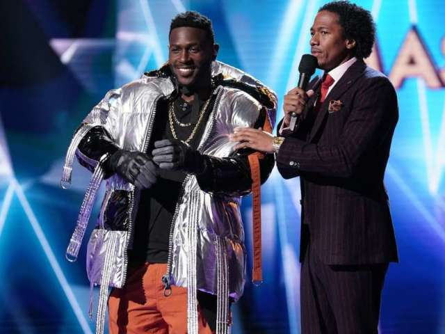 Remembering Antonio Brown's Brief Stint on 'The Masked Singer'