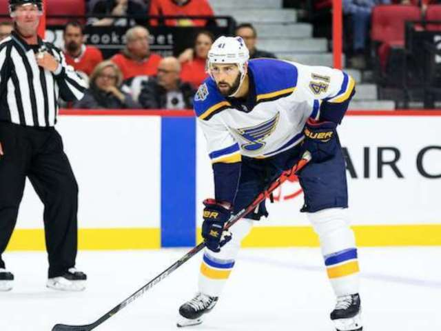 Blues' Robert Bortuzzo Under Fire for Rough Hit on Predators' Viktor Arvidsson