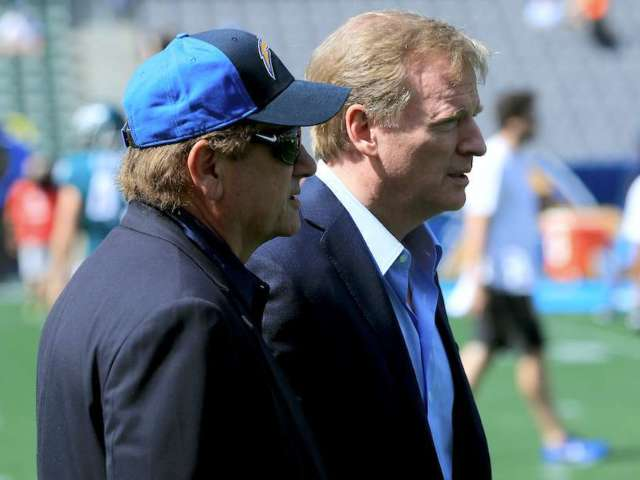 NFL Shuts Down Rumors of Chargers Moving to London