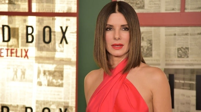 sandra bullock december 2018 getty images