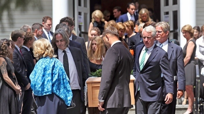 saoirse kennedy hill funeral getty images