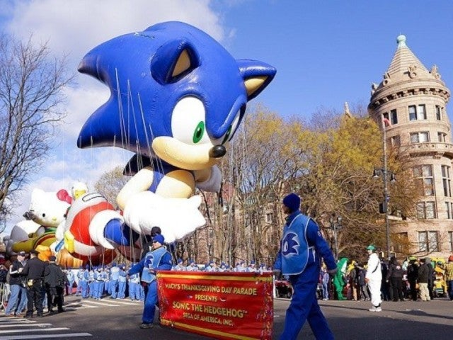 Macy's Thanksgiving Day Parade: Footage Surfaces of Infamous 1993 Sonic the Hedgehog Balloon Accident