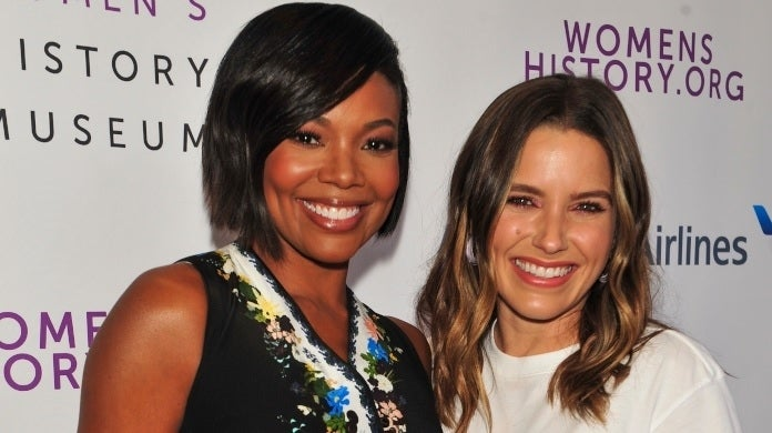 sophia bush gabrielle union getty images