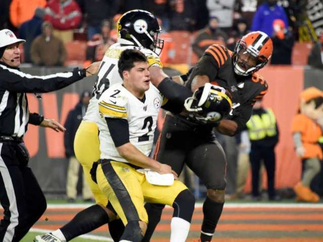 Steelers' Mason Rudolph Regrets Actions During Fight Against Browns' Myles Garrett