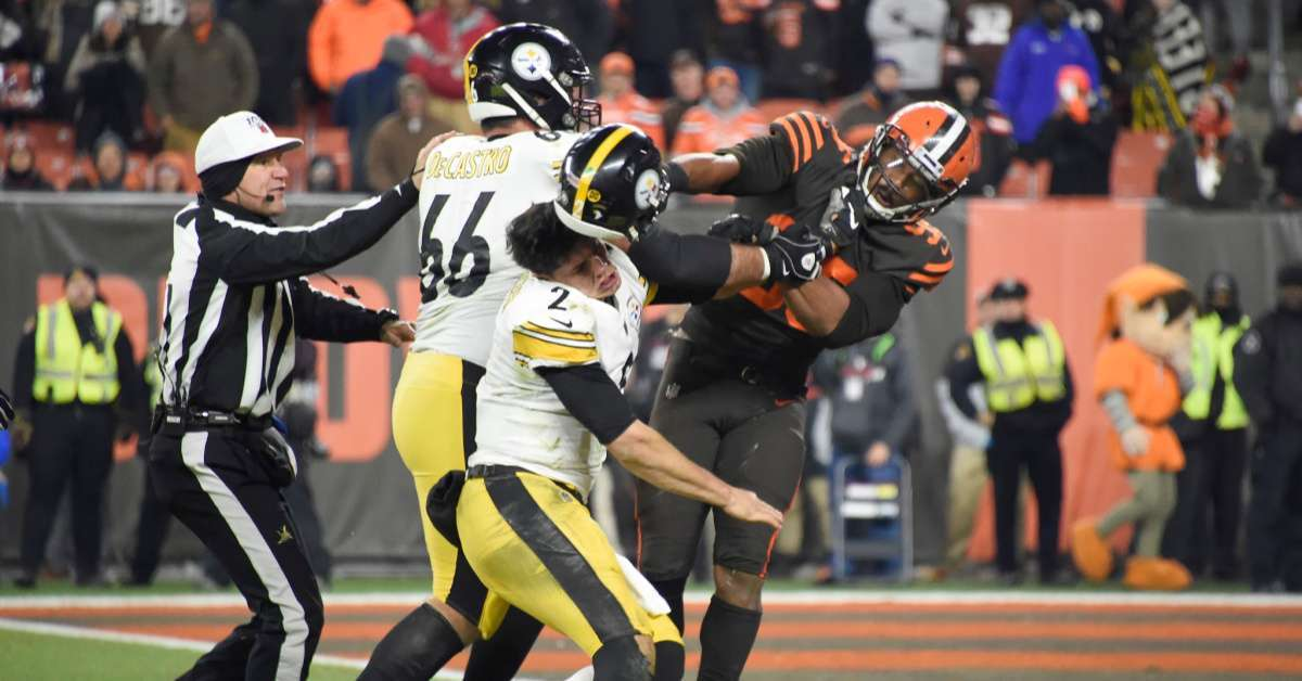 Steelers vs Browns Brawl Leaves Former NFL Players and Fans Stunned