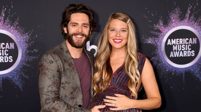thomas rhett lauren akins Getty : Jeff Kravitz