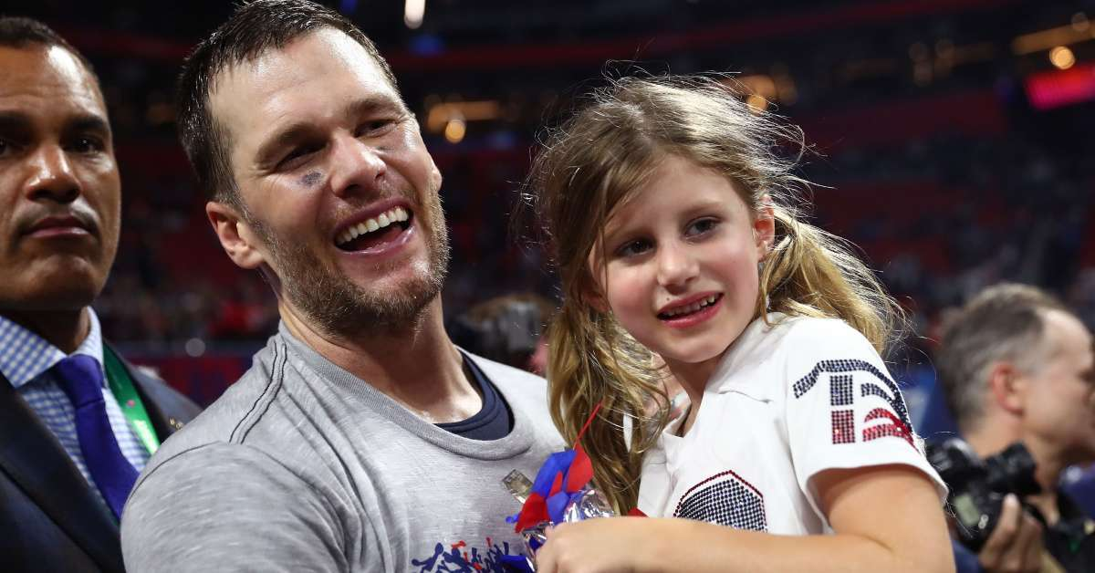 Tom Brady Reveals Goodnight Text From Daughter Vivian, and It's Too Cute