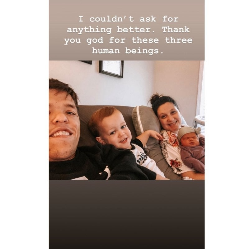 tori roloff lilah roloff family instagram story