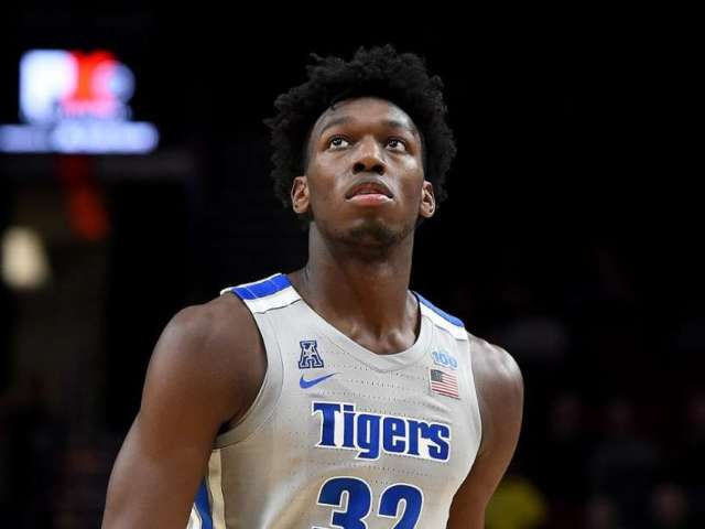 University of Memphis Basketball Player James Wiseman Suspended for 12 Games Over Financial Scandal