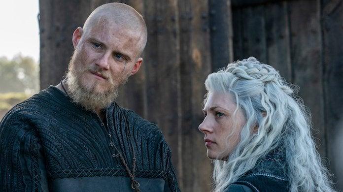 vikings-Bjorn -Alexander-Ludwig-Lagertha-Katheryn Winnick-History-Channel