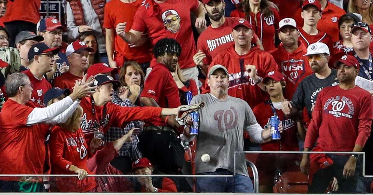 Washington Nationals Fan Gets Own Float at World Series Parade