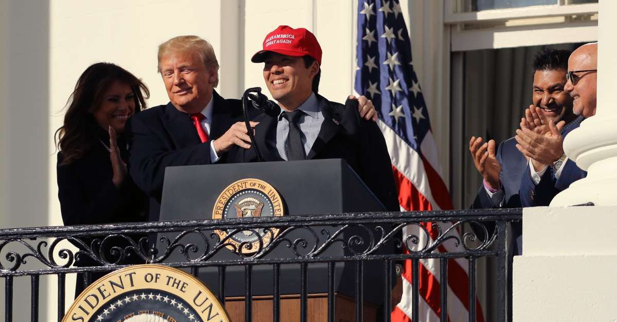 Washington Nationals Player Kurt Suzuki Explains Why He Wore MAGA Hat at White House Visit
